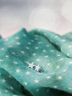 Earstuds «Star» Fish, Star, All Star, Stars, Ichthys