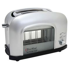 iTouchless See-Through Automatic Toaster (Silver) (Plastic)