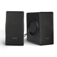 Powerful Sound These speakers deliver rich sound with enhanced bass. Perfect for listening to all your music playing games and watching movies. Easy Setup Plug-and-Play design powers via USB port wit...