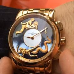 «That moment when your watch has a better sex life than you Ulysse Nardin Hourstriker Erotica by @BYoungCo»