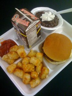 This school lunch looks good enough for me to re-enroll.