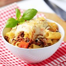 Sausage & Four Cheese Rigatoni | MyDailyMoment