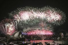 As the clock strikes midnight and the world heralds the start of 2016, pictured celebrations in Sydney today, millions of people will resolve to make drastic lifestyle changes. Here, psychology experts offer their top tips on how to stick with your New Year's resolutions