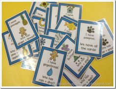 Fun classroom activity for teaching compound words - 1st grade