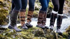 Love at first stride - why the country set love Dubarry boots. To the untrained (townie) eye it may look like us lot out here in the sticks couldn't give a flying daffy about what we wear. Country Boots, Country Outfits, Dubarry Boots, We Wear, How To Wear, Mode Style, Family Photography, Equestrian, Leather Boots