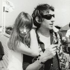Serge Gainsbourg und Jane Birkin, 23. Juli, 1970 Fotografie-Druck von Luc Fournol bei AllPosters.de