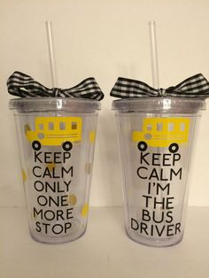 School Bus Driver Tumbler-End Of The Year-Bus by HappyRedCottage