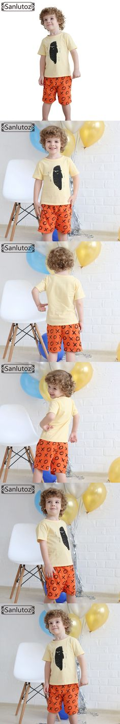 Boys Children Clothing Set Cotton Kids Clothes Summer Brand Sport Suits for Boys Toddler Baby (Tshirts + Shorts) 2016 $13.7