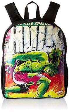 BB Designs Stylish Comics Close Up Design Marvel Hulk Backpack. #Designs #Stylish #Comics #Close #Design #Marvel #Hulk #Backpack