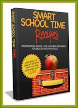 Free eBook with over 125 recipes - many vegan!  I need ideas for school lunches this year and I hope this eBook can inspire me!