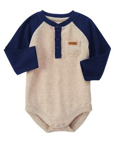 Raglan Bodysuit at Gymboree  Collection Name: Forest Friends (2015)