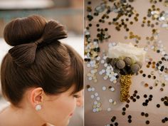 perfect for the groom, maybe with an anemone. love the gold wrap!