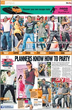 HT City 'Fresh On Campus' reaches IIPM Delhi.