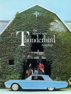 1961 Ford Thunderbird Ad.
