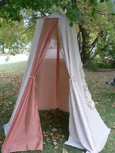 Hand Made Lion Safari Play Tent made from by colouraddiction, $149.00