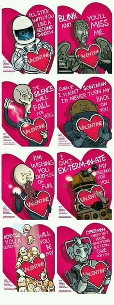 Yes!!! These are too cute!! I'd be anyone's valentine with these