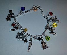 Hagrid themed charm bracelet