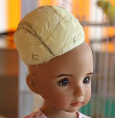 Today I decided to make a lambswool wig for one of my Little Darlings by Dianna Effner and thought I'd photograph the process in the hope th...