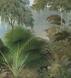 Paysages 200x220 - Lombok couleur L200xH220 - 2 lés de 100cm - ultra mat