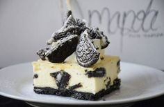 Banoreo Cheesecake - Fab Food 4 All Healthy Dessert Recipes, Fun Desserts, Oreo Biscuits, Heart Healthy Diet, Oreo Cheesecake, Whipped Topping, Food Art, Deserts, Vegetarian