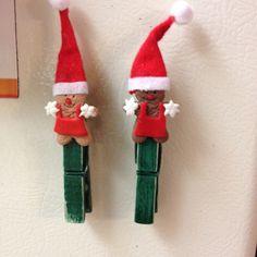 Clothspin elves