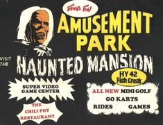 Haunted Attractions, Wax Museum, Haunted Mansion, Go Kart, Amusement Park, Classic, Karting, Classical Music, Go Karts