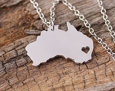 Hey, I found this really awesome Etsy listing at https://www.etsy.com/listing/208932567/i-heart-australia-necklace-australia