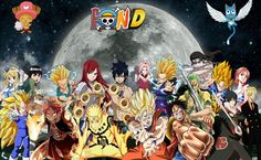 Fairy Tail One Piece Naruto HD Wallpaper