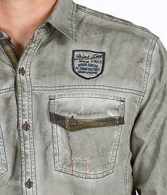 Point Zero Washed Shirt - Men's Shirts/Tops   Buckle