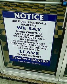 This Ohio Bakery Wants People to Know That It Will Be 'Politically Incorrect' This Holiday Season