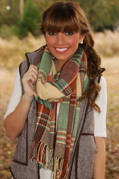 Cozy For Christmas Scarf: Multi #shophopes