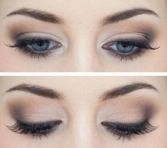 cool Удачный дневной макияж для голубых глаз — Советы, модные тенденции