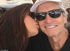 Close: She recently shared a loved up picture with her A-List husband of 16-years, Michael...