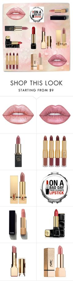 """Top lipsticks"" by ivanazb ❤ liked on Polyvore featuring beauty, Lime Crime, L'Oréal Paris, tarte, Yves Saint Laurent, Chanel, Guerlain, Clarins and Lancôme"