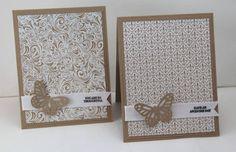 Easy Note Card Set by DeborahLynneS - Cards and Paper Crafts at Splitcoaststampers