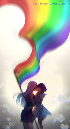 Love Wins by yuumei > stunning…