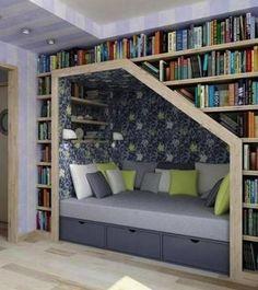Otima ideia para o quarto pequeno! Amei!