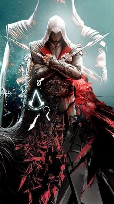 Ezio - Assassins Creed Amazing and majestic. Nothing else to say. The Assassin, Arte Assassins Creed, Assassins Creed Odyssey, Assassins Creed Tattoo, Assains Creed, All Assassin's Creed, Assassin's Creed Brotherhood, Assassin's Creed Wallpaper, Character Illustration