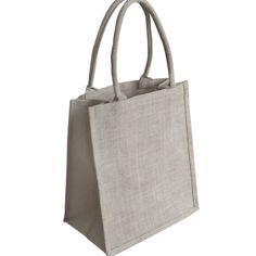 EJ-209+Jute+Supermarket+Shopper+Natural+Bag