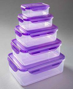 10-Pc. Locking Food Storage Sets|LTD Commodities