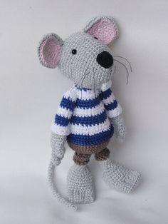 Rumini the Mouse Amigurumi Crochet Pattern by IlDikko on Etsy