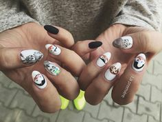 """""""Madagaskar Nails  Całość wykonana hybrydami @spnnails #madagaskar #madagaskarnails #madagaskarmanicure #nailart #naildesign #paznokcie…"""""""
