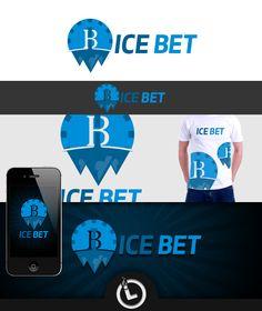 Logo for ICE BET Logo Branding, Logos, Ice, Ice Cream, Logo