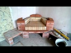 Камин угловой - YouTube Home Fireplace, Fireplaces, House On Stilts, Diy Home Decor, Oven, Exterior, House Design, Furniture, Outside Wood Stove