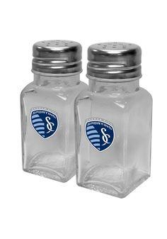 Sporting Kansas City Glass Salt and Pepeper Set | SKC Sporting Salt and Pepeper Set http://www.rallyhouse.com/shop/sporting-kansas-city-13820013 $12.99