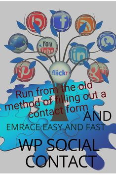 WP Social Contact is a perfect software which will help your customers  easily contact you through your social media account. Customers want quick and interactive conversations nowadays.That is why most of the marketers lose customers because they're still using this old method of 'Fill This Form'. Make Quick Money Online, Attention Grabbers, Email Form, Social Link, Have You Tried, Wordpress Plugins, Color Schemes, Fill, Software