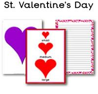 A great selection of St. Valentine's Day teaching resources. There is also a St. Valentine's Day cake shop role section.  For more winter topics for the classroom, please check out our site. Our Saint Valentine's Day printables are all free to download, plus  we have 1000s more free classroom printables available to download.