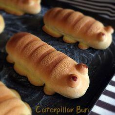My Mind Patch: Caterpillar Bun 毛毛虫面包