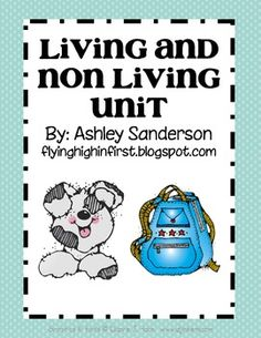 great unit to practice living and non living with your students Student Teaching, Teaching Science, Life Science, A Classroom, Science Classroom, First Grade, Grade 1, Living And Nonliving, Kindergarten Lessons