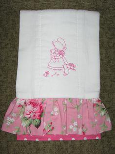 precious burp cloth